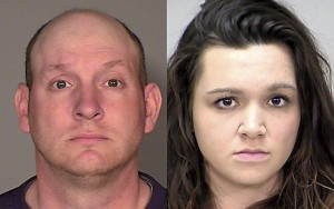 Undated photo of Eric (left) and Brittany Vacko will stand trial for a combined 17 felony charges on Jan. 18. Brittany, 26, was convicted of perjury and forgery last Tuesday.(Courtesy of Ramsey County Sheriff's office)