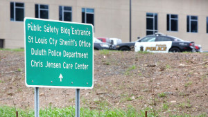 t5.14.16 Bob King -- kingSTOLENSQUAD0515c -- The St. Louis County Sheriff's office is located in the Public Safetly Building. Bob King / rking@duluthnews.com